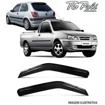 Calha De Chuva Fiesta Hatch 96/01 Courier 2 Pts 97/13
