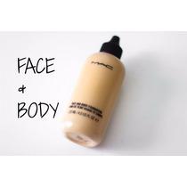 Base Face And Body Foundation Mac 120ml - Para Rosto E Corpo