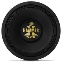 Woofer Eros Hammer 12 2600w 5.2k Black Falante Medio E Grave