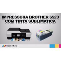 Multifuncional A3 Brother Mfc J6520 Dw C/ Tinta Sublimática
