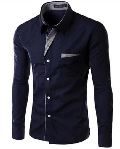b9ae478a83 Camisa Social Masculina Slim Alta Moda Frete Grátis P  2 Un