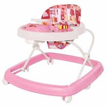 Andador Infantil Musical Rosa Para Menina