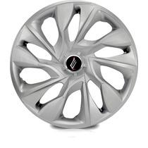 Jogo Calota Aro 13 Ds4 Silver Universal Sportiva Tuning