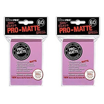 Ultra Pro 60 Pro Matte Small Yugioh Sleeves - Diversos