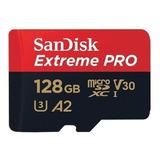Cartão De Memória Sandisk Sdsqxcy-128g-gn6ma Extreme Pro 128gb