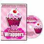 Silhouette Cameo - 100 Modelos De Forminhas Para Cupcake