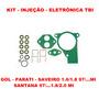 Kit Reparo Injeção Eletronica Tbi Gol/parati 97/..16/1.8 Mi