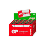 Bateria Pilha Gp Power Plus 9v 6f22m Hw Caixa 10 Unidades