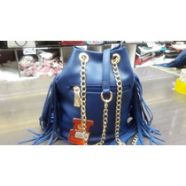 Bolsa Feminina Haute Original Azul- Já No Brasil