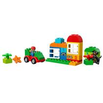 Lego 10572 - Duplo - Caixa Divertida Tudo Em Um Conjunto