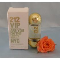 Miniatura Perfume Frete Gratis Mini 212 Vip Ch