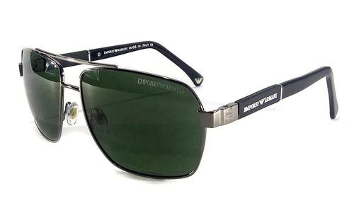 Oculos De Sol Masculino Ea3074 Armani Lente Uv400 Lançamento 923555218b