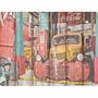 Placa De Decoração Em Mdf - Caminhão Da Coca Cola Retro