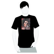 Camisa De Boa Qualidade Em Algodão- Bob Marley Burnin