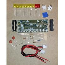 Kit Montagem Eletrônica Vu Led Bargraph Audio Level Frete$10