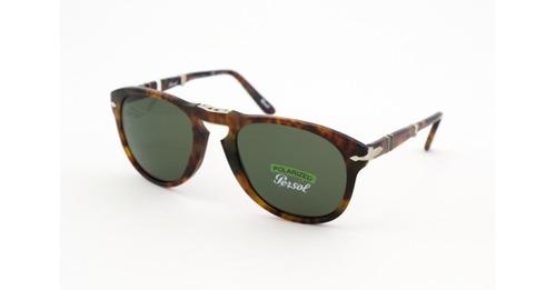 5dd3d213b Óculos De Sol Persol Dobrável Po0714 108/58 Acetato
