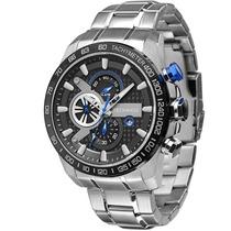 Relógio Maculino Technos Sports Os1aaj/1p 52mm Prata