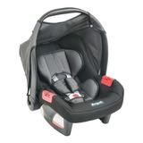 Bebê Conforto Burigotto  Touring Evolution Se Preto/cinza