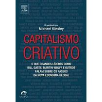 Livro Capitalismo Criativo - Frete Grátis
