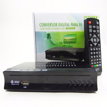 Conversor Digital P/ Tv C/ Visor Led Hdmi E Usb