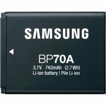 Bateria Bp70a P/câmera Samsung Sl50 Es65 Pl80 Original 100%