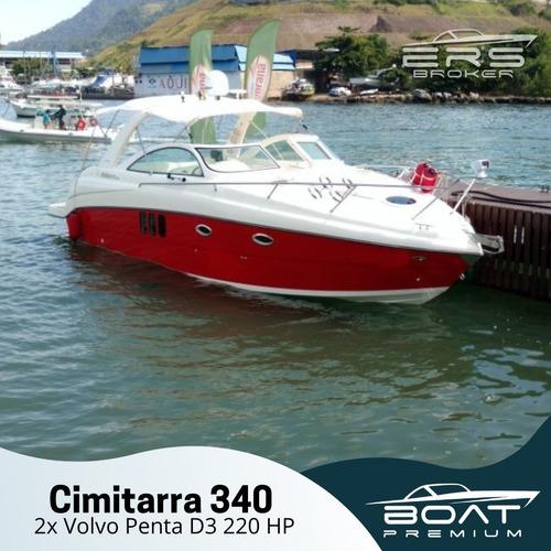 CIMITARRA 340 - 2013 - 2X VOLVO PENTA D3 220HP