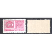C-466y Papel Marmorizado 1961 Selo Sobre Selo, Olho De Cabra