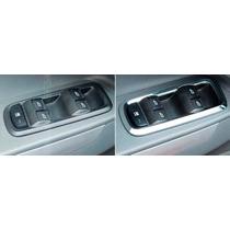 Ford New Fiesta Moldura Cromada Comando Vidro Acessórios 16
