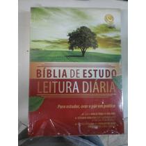 Bíblia De Estudo Leitura Diária Para Estudar E Praticar