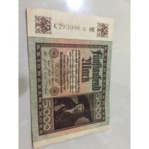 Cédula Alemanha Antiga 5000 Mark 1922