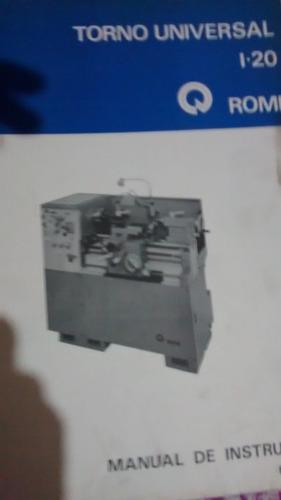 catalogo manual de instru es torno romi i 20 r 180 en melinterest rh br melinterest com Torno Revolver Torno Revolver