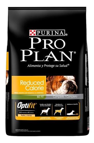 Ração Pro Plan Reduced Calorie Cachorro Adulto Raça Média/grande Frango/arroz 15kg