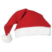 10 Touca Gorro Papai Noel Natal Fantasia Festa Envio Rápido
