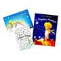 O Pequeno Príncipe Livro De Colorir + Versão Ilustrada Kit 3 Original