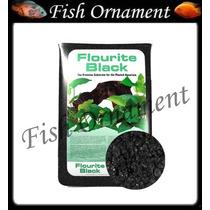 Seachem Flourite Black Cascalho Plantados Fish Ornament