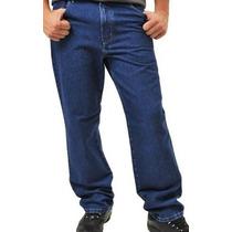Kit 2 Calças Jeans Tradicional Masculina Tamanho Do 38 Ao 54