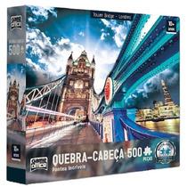 Quebra Cabeça Tower Bridge Londres 500 Peças - Toyster