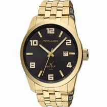 Relógio Technos Masculino Classic Golf Dourado 2315yj/4p