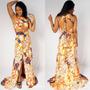 Vestido Longo Viscose Casual Rodado Barato Moda Sabrina Sato
