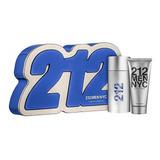 Kit 212 Men 100ml + Shower Gel 100ml | Original + Amostra