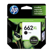 Cartuchos Hp 662 Xl Originais Modifi. C30ml Maior Rendimento