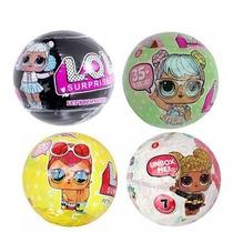 Kit 4 Bonecas Surpresa Lol - 1 Black+1 Pets+1 Glitter+1 S2