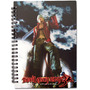 Notebook Devil May Cry 3 Dante Key Art Stationary Ge43013
