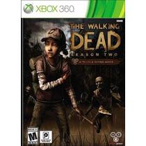 The Walking Dead Season Two Mídia Física Xbox 360 Brinde