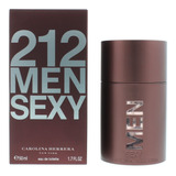 212 Sexy Men 50ml Masculino | Original + Amostra De Brinde
