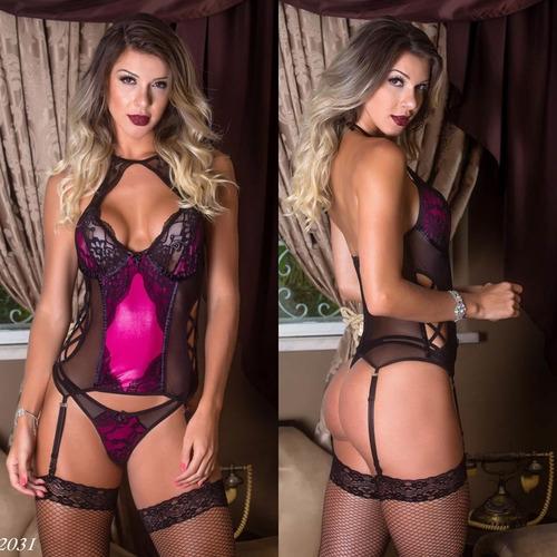 47330df5e Amante Angel Lingerie Sexy Espartilho Corselet Corpete Noiva à venda ...