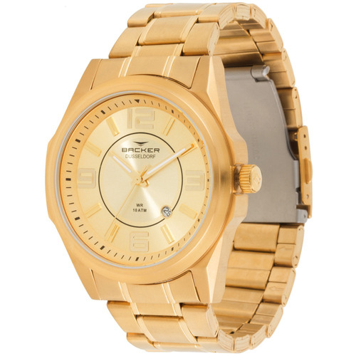 Relógio Masculino Backer 6119275m Ch Dusseldorf