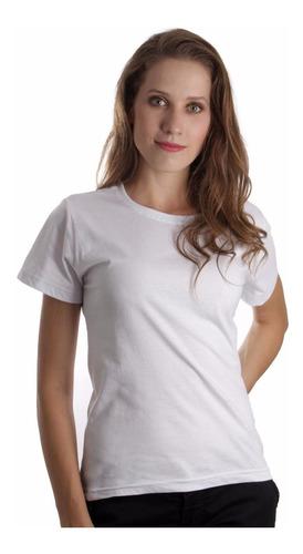 8d7adaa595 Kit C/ 10 Baby Look Feminina Lisa Básica Camiseta Blusinha