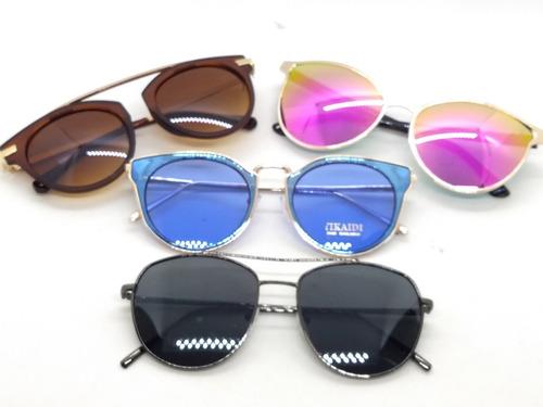 Kit C 12 Óculos De Sol Masc E Feminino No Atacado E Revenda 4b4f93c4be
