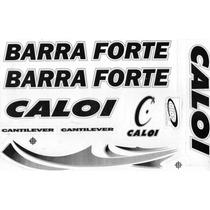 Adesivo P Bicicleta Caloi Barra Forte Circular C Verniz A